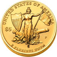 Medal of Honor $5 Gold Coin