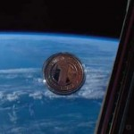 United Future World Currency Silver Coin in Space