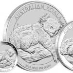 Perth Mint Unveils 2012 Australian Silver Koala Coins