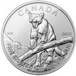 Royal Canadian Mint Unveils 2012 Cougar Silver Bullion Coins