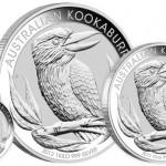 2012 Australian Silver Kookaburra Coins