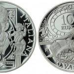 Italian Coin Marks 500th Anniversary of the Birth of Giorgio Vasari