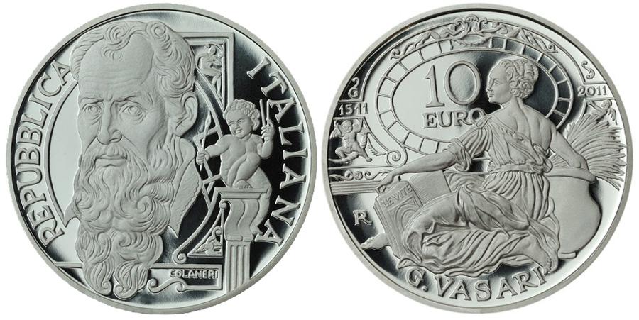 2011 Vassari Silver Coin