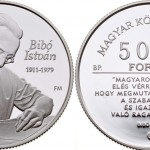 Hungarian Coin Honors Istivan Bibo