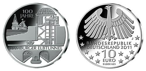 Elbe Tunnel Commemorative Coin