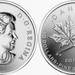 One-Half Ounce 2011 Silver Maple Leaf Forever Coins