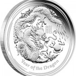 Australian 2012 Year of the Dragon Gold and Silver Proof Coins