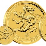 Perth Mint's 2012 Year of the Dragon Gold and Silver Bullion Coins