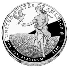2011 Proof Platinum Eagle
