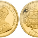 Royal Canadian Mint Issues Five Ounce $500 Gold Coin