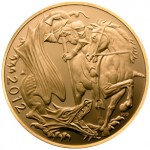 2012 Gold Sovereign Features New Rendition of St. George Slaying the Dragon
