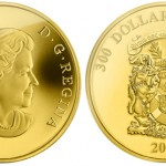 Novia Scotia Coat of Arms Featured on Latest Canadian Gold Crown