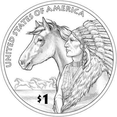 2012 Native American Dollar