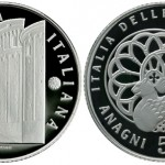 Latest Italian Arts Coin Dedicated to Anagni
