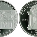 Italian Council of State Featured on 5 Euro Silver Coin
