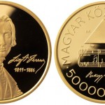 Hungarian Gold Coin Honors Franz Liszt