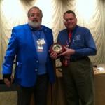 Patrick Heller Receives MSNS President's Award