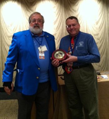 Patrick Heller Receives MSNS Award