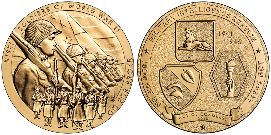Nisei Soldiers of World War II Congressional Gold Medal