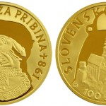 Slovak Gold Coin Honors Prince Pribina of Nitra