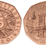 Austrian Mint 5 Euro Coin for Society of Music Friends 200th Anniversary