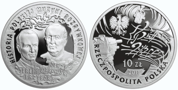 Polish Entertainment Silver Coin