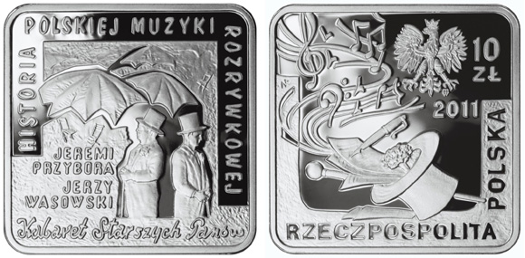 Polish Entertainers Square Coin