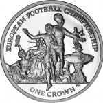 Isle of Man Issues 2012 European Football Championship Silver Crowns