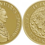 Queen Margrethe II 40th Jubilee Commemorative Coins