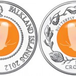 Life Cycle of the Butterfly Featured on Crystal & Silver Coin