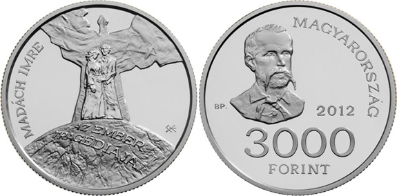 The Tradgedy of Man 3000 Forint Hungary