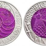 Austrian Mint Launches Bionics Silver and Niobium Bimetallic Coin