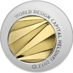 Gold and Silver Coin Celebrates 2012 World Design Capital Helsinki