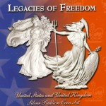 Legacies of Freedom Set Featured Liberty and Britannia