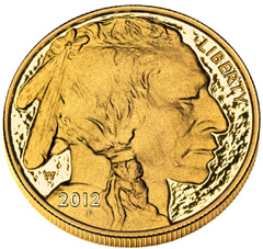 2012 Proof Gold Buffalo