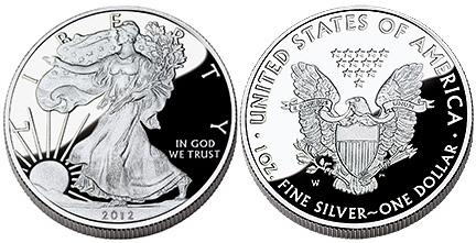 2012 Proof Silver Eagle