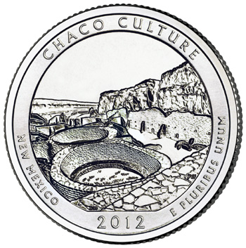 Chaco Culture National Historical Park Quarter