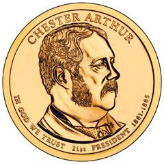 Chester Arthur Dollar