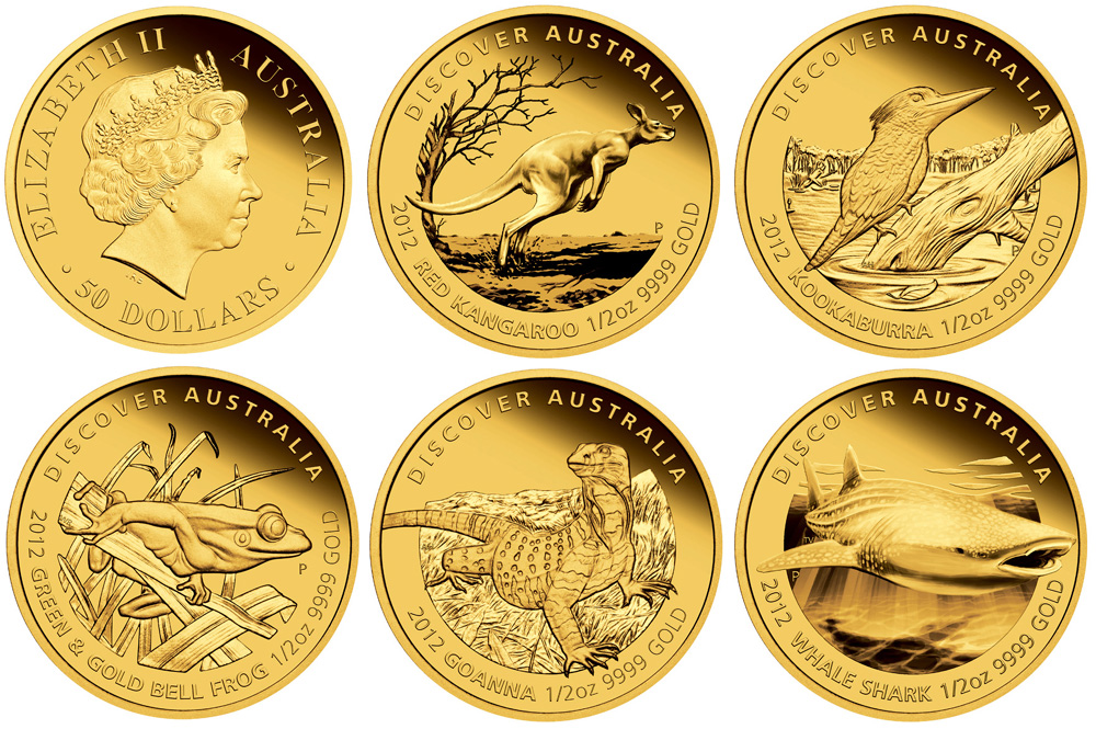 Perth Mint Launches 2012 Discover Australia Gold Proof