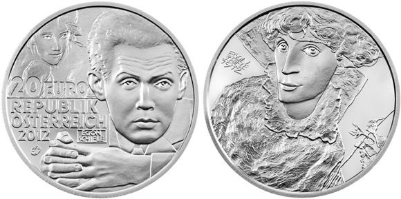 Egon Schiele 20 Euro Silver Coin