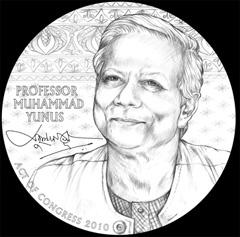 Muhammad Yunus Congressional Gold Medal