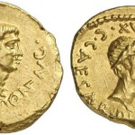 Gold Aureus of Famed First Emperor Augustus Realizes Surprise Amount in Auction
