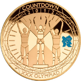 Games Time Countdown Gold Coin