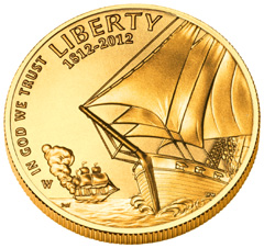 Star Spangled Banner Gold Coin