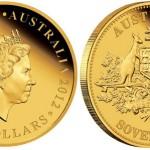 2012 Proof Australian Gold Sovereign Released