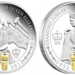 Perth Mint Queen Elizabeth II Diamond Jubilee Silver Two Coin Set