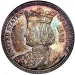1893 Isabella Quarter Dollar