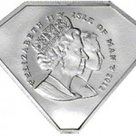 Diamond Jubilee Highlighted with Gem-Shaped Coin