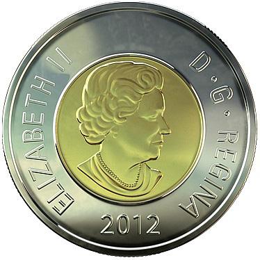 Canada 2012 Toonie