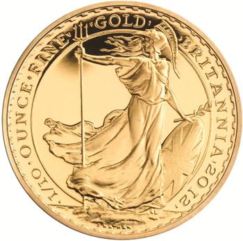 2012 Gold Britannia